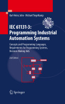 IEC 61131 3  Programming Industrial Automation Systems