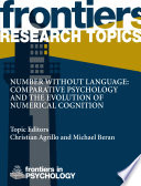 Number without language: comparative psychology and the evolution of numerical cognition