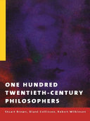 One Hundred Twentieth Century Philosophers