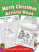 Merry Christmas Activity Book Book