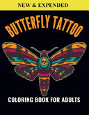Butterfly Tattoo Coloring Book For Adults