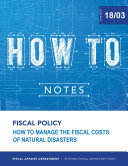 Pdf How to Manage the Fiscal Costs of Natural Disasters Telecharger