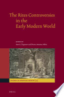The Rites Controversies in the Early Modern World