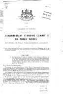 Pdf Journals and Printed Papers of the Parliament of Tasmania
