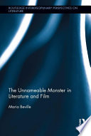 The Unnameable Monster in Literature and Film