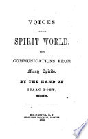 Voices From The Spirit World PDF