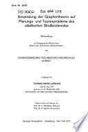 Anwendung der graphentheorie auf planungs- und tourenprobleme d...