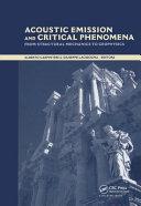 Acoustic Emission and Critical Phenomena