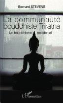 La communauté bouddhiste Triratna