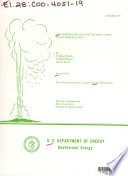 Geothermal Preheating in Fossil fired Steam Power Plants Book