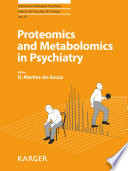 Proteomics And Metabolomics In Psychiatry Book PDF
