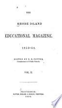 The Rhode Island Educational Magazine