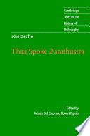 Nietzsche  Thus Spoke Zarathustra Book PDF