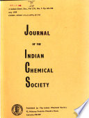Journal of the Indian Chemical Society  , Volume 56,Edições 7-12