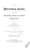 The Mercersburg Review