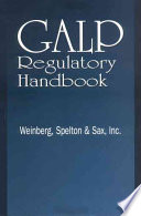 GALP Regulatory Handbook