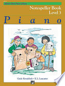 Alfred s Basic Piano Library   Notespeller Book 3