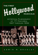 Pdf The First Hollywood Musicals