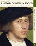 A History of Western Society  Volume B