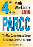 4th Grade PARCC Math Workbook 2018