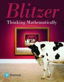 Thinking Mathematically  Books a la Carte Edition