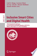 Inclusive Smart Cities and Digital Health Book