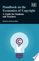 Handbook on the Economics of Copyright Book