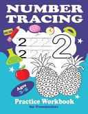 Number Tracing Practice Workbook Ages 3 5