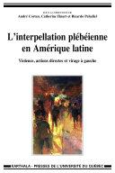 Pdf L'interpellation plébéienne en Amérique latine. Violence, actions directes et virage à gauche Telecharger