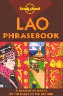 Lao Phrasebook