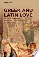 Greek and Latin Love Book PDF