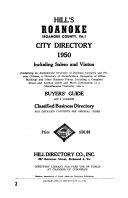 Hill s Roanoke  Va  City Directory