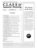 Class & Industrial Marketing