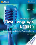 Books - New Cambridge IGCSE First Language English Language And Skills Practice Book | ISBN 9781108438926