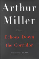 Echo down the corridor collected essay 1944 2000 utsc cover letter