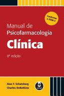 Manual de Psicofarmacologia Clínica - 8ed