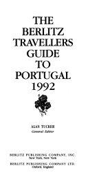 The Berlitz Traveller s Guide Portugal 1992