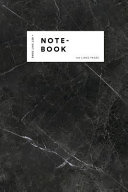Notebook: Elegant Black Marble White Label Journal for Men and Women ★ Office Notes ★ School Supplies ★ Person Pdf/ePub eBook