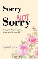 Sorry Not Sorry Pdf