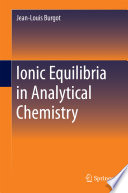 Ionic Equilibria in Analytical Chemistry Book