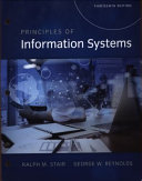 Principles of Information Systems, Loose-Leaf Version