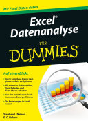 Excel Datenanalyse fÃ1⁄4r Dummies