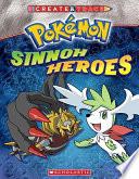 Pokemon: Create and Trace Sinnoh Heroes