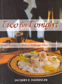 Two for Tonight Book
