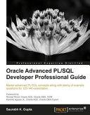 Pdf Oracle Advanced PL/SQL Developer Professional Guide Telecharger