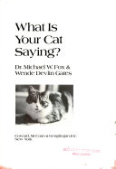 What is Your Cat Saying