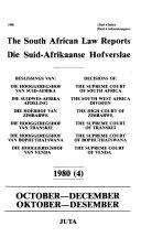 Suid Afrikaanse Hofverslae