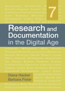 Research and Documentation in the Digital Age