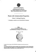 Plants with Antimicrobial Properties: Antifungal properties