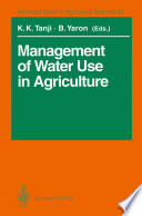 Management of Water Use in Agriculture